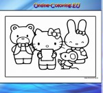 Hello Kitty Kleuren