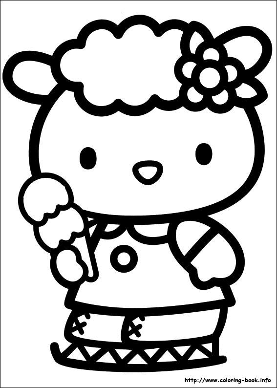 Hello Kitty Kleurplaat 45