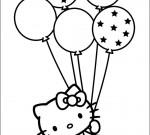 Hello Kitty Kleurplaat 55