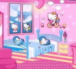 hello kitty fan decoration room movie cartoon video game ( jeux video en ligne pour fille)