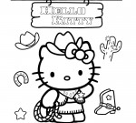 Hello Kitty Kleurplaat 89