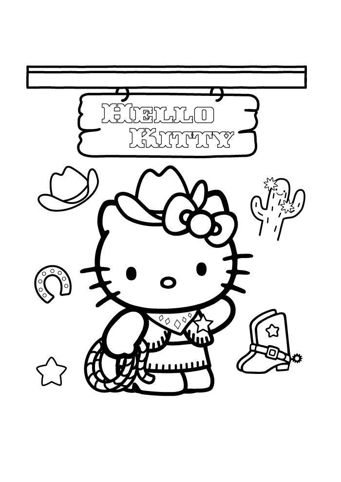 Zeemeermin Kleurplaat Spelletjes Hello Kitty Kleurplaat 89